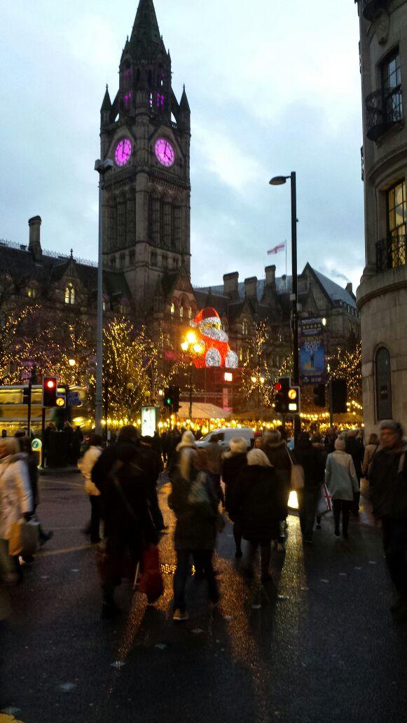 Der deutsche Weihnachtsmarkt in Manchester
