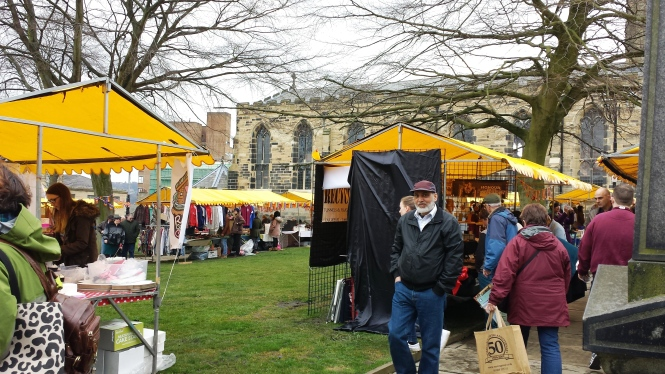 Der Alternative Market in Huddersfield.