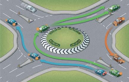 In so einem Roundabout kann man Stunden zubringen.
