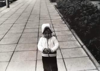 Spaziergang durch die Platte. Anfang der 80er Jahre.