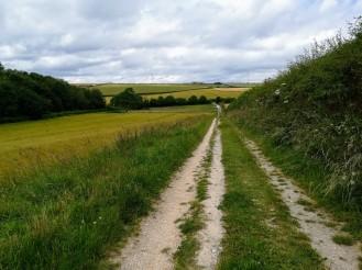 Der Wolds Way ist auch im Sommer nicht gerade überlaufen.